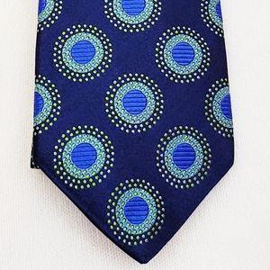 Ted Baker London Italian Silk Tie Blue & Green New